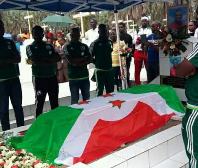 Burundi play maker's funeral causes outrage